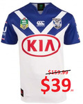 Bulldogs Home Jersey - $39.99 (RRP $159.99) + Delivery @ Peter Wynn's Score
