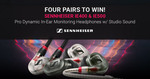 Win 1 of 4 Pairs of Sennheiser IE500 or IE400 Pro Headphones Worth Up to $679 from Mannys
