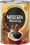 NESCAFÉ Blend 43 Instant Coffee 500g $14.00 / $12.60 S&S + Delivery (Free w $39 Spend/Prime) @ Amazon AU