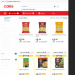 50% off Haldiram's Frozen Indian Food Variety (E.g. Samosas $5, RRP $10) @ Coles (Selected Stores)