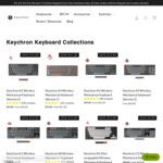 20% off Mechanical Keyboards (Excluding K3 & K4v2) + Delivery @ Keychron