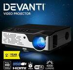 [eBay Plus] Devanti Native 1080P Projector $246.46 Delivered @ Ozplaza.living eBay