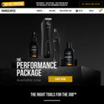 20% off Sitewide, Free Shipping @ Manscaped