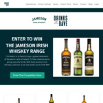 Win the Jameson Irish Whiskey Collection Worth $190 from Drinks with Dave