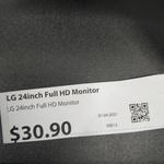 "[SA] LG 24MK400 24"" Full HD Monitor $30.90 @ Australia Post (Adelaide)"