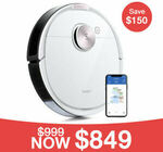Ecovacs DEEBOT OZMO T8 Robotic Vacuum Cleaner Deal & Bonus OZMO Pro $849 Delivered @ Ecovacs eBay