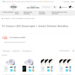 Smart WIFI / Zigbee Dimmer Switch + Tri Colour Downlights bundles from $89.71 (15% off) + Free Shipping @ Lectory