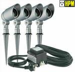 HPM 4pcs Garden Light DIY Complete Kit $89 Delivered @ Eeet5p eBay