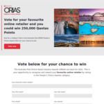 Win 1 of 5 Prizes of 250,000 Qantas Points Worth $2,500 from Australia Post