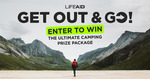 Win a Camping Prize Pack Worth Over $2,000 from LIFEAID Beverage Co