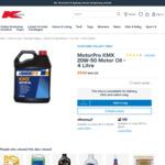 Motor Oils - Motorpro KMX 20W-50 API SG/CD 4L $9 (was $15)/Shell Helix 15W-40 API SN+/SN/CF 5L $19 (was $30) @ Kmart