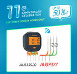 Inkbird IBBQ-4T Wi-Fi Thermometer $79.77, ISV-200W Sous Vide $83.40 Delivered & More @ Inkbird eBay