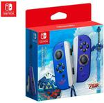 Nintendo Switch Joy-Con Controller (The Legend of Zelda Skyward Sword HD Edition) $64 + Delivery (Free with Club Catch) @ Catch