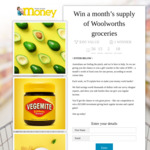 Win a Months Supply of Groceries from Really Simple Money