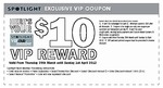 FREE $10 Spotlight VIP Voucher Is Back, March 29th - April 1st