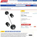 Celsius 50kg Weight Set - $149.99 (RRP $199.99) from Amart All Sports - In-store