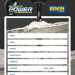 Free Drillbit Sample - SpeedHammer POWER from Irwin Tools
