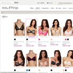Bras N Things 3 for $90 Bras +$9.95 Delivery, Online Only
