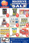 24x350ml Juice $4, 24x250ml Oats Express $4, 150gm Red Rock Deli Chips $1 @ Golden Circle QLD