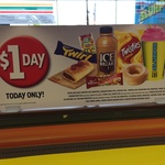 7-Eleven $1 Day Thursday 24th October 2013