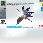 """Medion® Akoya® S6212T MD99270 15.6"""" Touch Notebook I3-4010U/500GB HD/4GB Ram $688 @Aldi 16th Nov"""