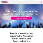 Subscribe to FREETIX for $15 & Get 1 Year Access to Free Passes to Shows and Events in Melbourne