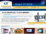 "LCD / Plasma Wall Mounting Bracket Suits 36-52"" TVs $34.99 + $15 P&H ($49.99 Total)"