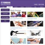 10% off Yamaha Music Education Children's Courses - (VIC/NSW) Music Wonderland  $297 (Was $330) Junior Music $504 (Was $560)