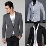 Men's One Button Casual Blazer 3 Colors M - XXL Size AU $16.88 Free Shipping @ AliExpress
