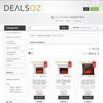 Electric Fireplace Heater Clearance Sale - $200 off Coupon @ Dealsoz.com.au