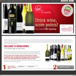 $100 off 12 Delicious Wines, Bonus One Free Sparking, Delivered + 2000 Velocity Points @ Virgin Wines