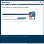 FREE Steganos Online Shield VPN (5 Devices Inc Android) 1 Year License (Usually $50)