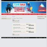 Thredbo 4 Day Flexi Pass - Any 4 Days 2015 Winter - $299 (Save $160)