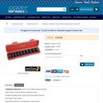 10 PC Drive Metric Shallow Impact Socket Set $18 + $12 Shipping @ Max Top Tools