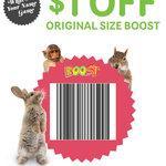 $1 off Original Size Boost Juice