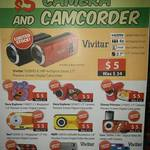 Vivitar HD Camcorder - RED or BLACK - $5 @ MSY Ultimo NSW