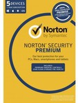 Norton Security Premium (1 User 5 Devices 1 Year) $39.95 @ Dick Smith (after $40 Cashback & Coupon)