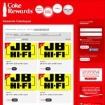 JB Hi-Fi Gift Cards: 200 Pts for $10, 400 Pts for $20, 1000 Pts for $50, 2000 Pts for $100 @ Coke Rewards