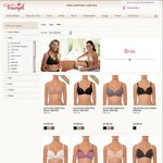 Triumph Bras Leap Day Sale - All Bras $29 for Next Two Hours (Free Shipping on Orders Over $75)