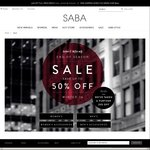 SABA End of Season Sale up to 50% off Excludes Clearance