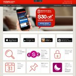 Hotels.com $30 off When You Spend $250 - Book by 14 Aug 2016 & Travel by Nov 14 2016 - Mobile App Only