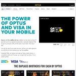 $10 Bonus Towards Contactless Payments (Via Visa Paywave) @ Optus / Cash by Optus App - iOS & Android