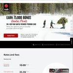 NAB Qantas Rewards Premium Credit Card - 75,000 Qantas Points after $1500 within 90 Days - $250 Annual Fee