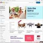10% off eBay Home & Garden with Code (Min Spend $75)