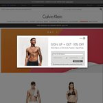 Calvin Klein: Online Event All T-Shirts for $12 (Plus $17 Flat Rate Postage)