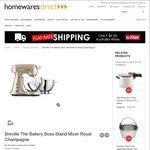Breville Bakery Boss Mixer BEM825 $499 + $9.90 Shipping @ Homewares Direct