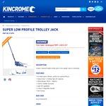 Kincrome Super Low Profile Trolley Jack 2700KG Lift Capacity - $329 (RRP $500)