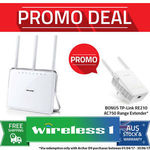 TP Link Archer D9 ADSL2 Router Modem $153 Via Wireless1 eBay (+ Redeem Range Extender)