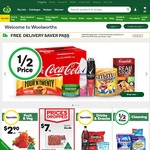 1 Month Free Delivery @ Woolworths for Orders over $100 Using Code