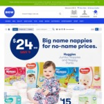 Huggies Jumbo Nappies or Nappy Pants $24 (Save $9) @ Big W